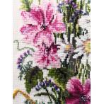 Zestaw z muliną - Bukiet polnych kwiatów