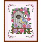 Wzór graficzny - Karmnik w kwiatach