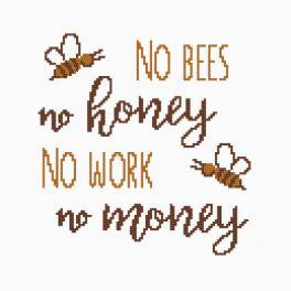 Z 8993 Zestaw do haftu - Honey