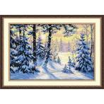 Zestaw z muliną - Zimowy las