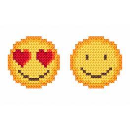 Wzór graficzny ONLINE - Emotki
