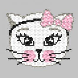 Wzór graficzny ONLINE - Kotka psotka