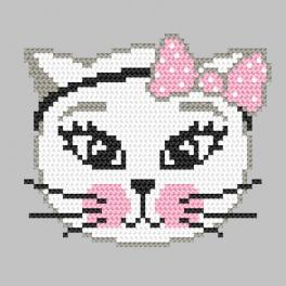 Wzór graficzny - Kotka psotka