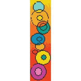 Wzór graficzny ONLINE - Zakładka - Gra w kolory