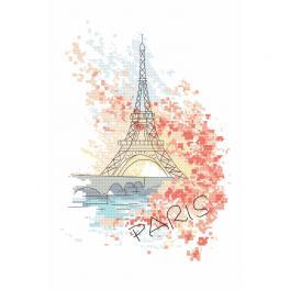Wzór graficzny - Paryskie uroki