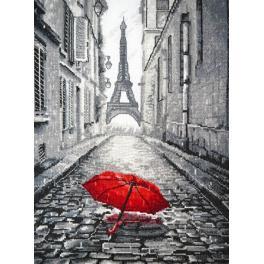 Zestaw z muliną - Deszcz w Paryżu