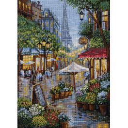 Zestaw z muliną - Deszczowy Paryż
