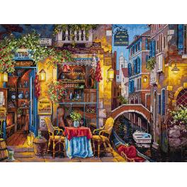 Zestaw z muliną - Nasze szczególne miejsce w Wenecji