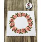 Wzór graficzny - Serwetka z różami
