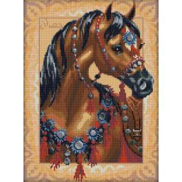 Zestaw do diamond painting - Arabski koń