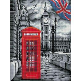Zestaw do diamond painting - W Londynie