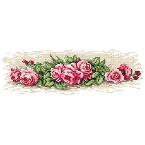 Wzór graficzny online - Różyczki