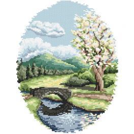 Wzór graficzny online - Wiosna