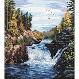 Zestaw z muliną - Wodospad