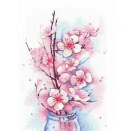 OV 1187 Zestaw z muliną - Kwitnąca jabłoń