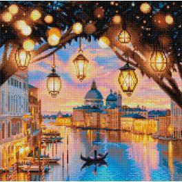 M AZ-1782 Zestaw do diamond painting - Wieczór w Wenecji