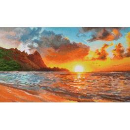 Zestaw z muliną - Złoty zachód słońca