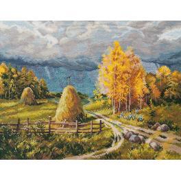 Zestaw z muliną - Jesienna burza