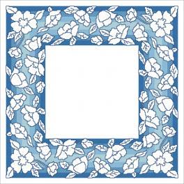 W 10629 Wzór graficzny ONLINE pdf - Serwetka z kwiatkami