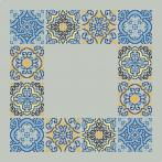 Wzór graficzny - Serwetka z kafelkami