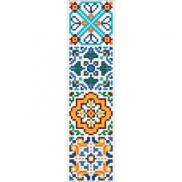 ZU 10628 Zestaw do haftu - Zakładka etniczna III