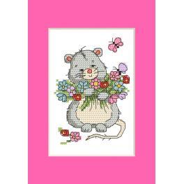 GU 10285 Wzór graficzny - Kartka - Myszka