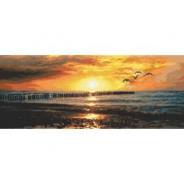 Wzór graficzny - Tęsknota za morzem