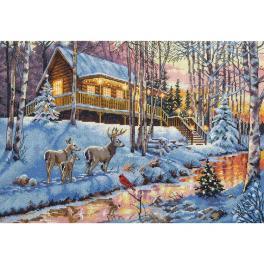 Zestaw z muliną - Dom w lesie