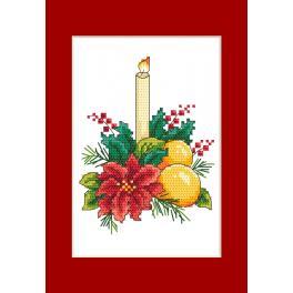 W 10298-01 Wzór graficzny ONLINE pdf - Kartka - Świąteczny stroik