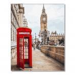 GX26716 Malowanie po numerach - Symbole Londynu