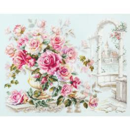 MN 110-011 Zestaw do haftu - Róże dla księżnej