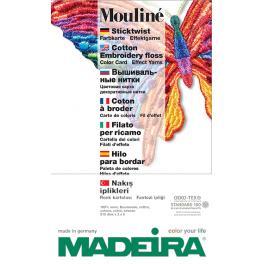 FK 123 Wzornik kolorów firmy MADEIRA