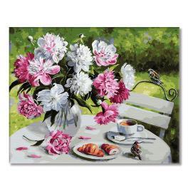 GX29388 Malowanie po numerach - Podwieczorek w ogrodzie