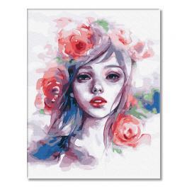 GX32208 Malowanie po numerach - Pani Wiosna