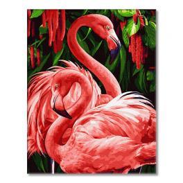 GX34305 Malowanie po numerach - Egzotyczne flamingi