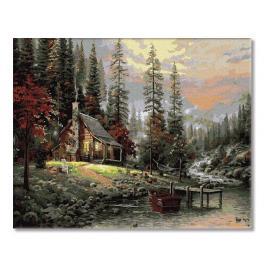 PC4050337 Malowanie po numerach - W górach