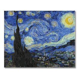 GX4756 Malowanie po numerach - Gwiaździsta noc - Van Gogh