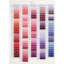 952 Mulina DMC - wybierz kolory