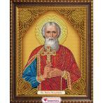 M AZ-5025 Zestaw do diamond painting - Ikona Księcia Vladimira