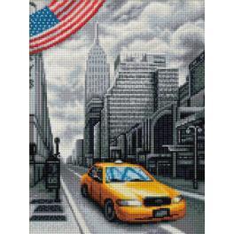 M AZ-1763 Zestaw do diamond painting - Nowy Jork
