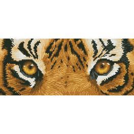 DD5.041 Zestaw do diamond painting - Tygrys szpieg
