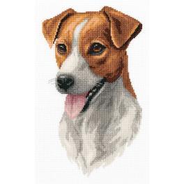 PAJ 7148 Zestaw do haftu - Jack Russell Terrier
