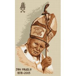 K 4038 Kanwa z nadrukiem - Papież Jan Paweł II