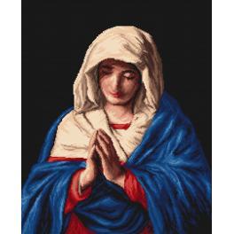 K 746 Kanwa z nadrukiem - Madonna
