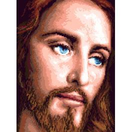 K 7319 Kanwa z nadrukiem - Jezus