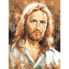 K 7311 Kanwa z nadrukiem - Jezus Chrystus