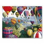 SI Ms8872 Malowanie po numerach - Lot balonem