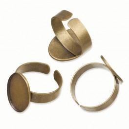 Baza pierścionka brąz
