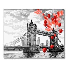 WD C037 Malowanie po numerach - Tower Bridge