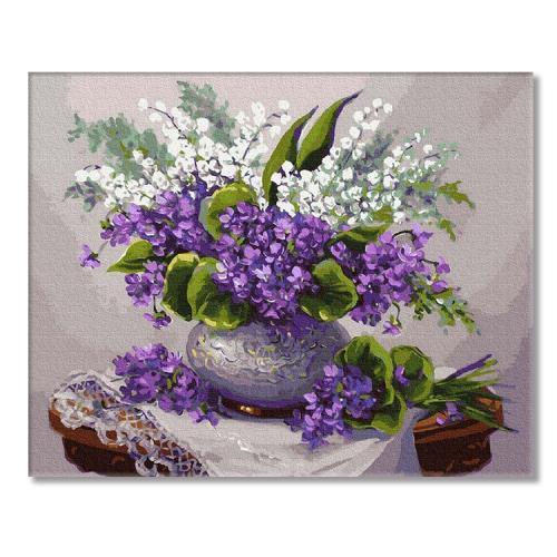 PC4050541 Malowanie po numerach - Zapachy wiosny